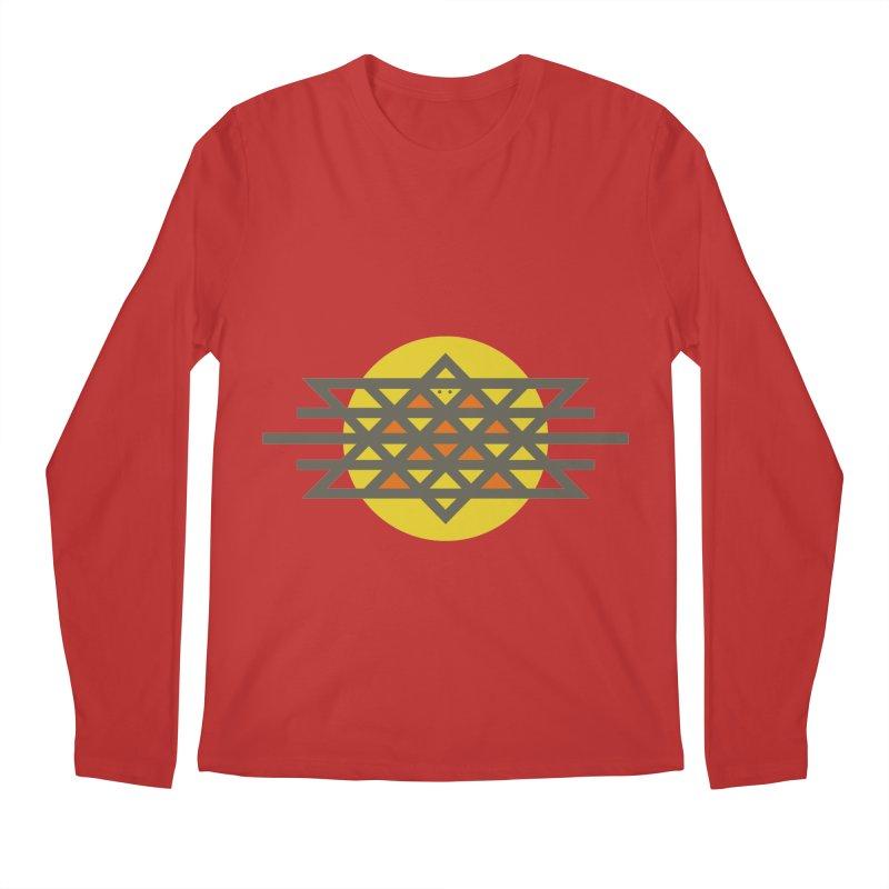 Sun Warrior Men's Regular Longsleeve T-Shirt by Hristo's Shop
