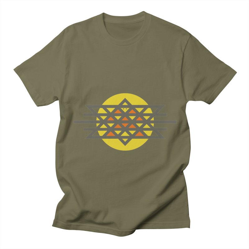 Sun Warrior Men's T-shirt by hristodonev's Artist Shop