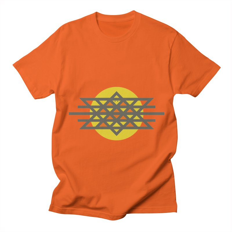 Sun Warrior Men's Regular T-Shirt by Hristo's Shop