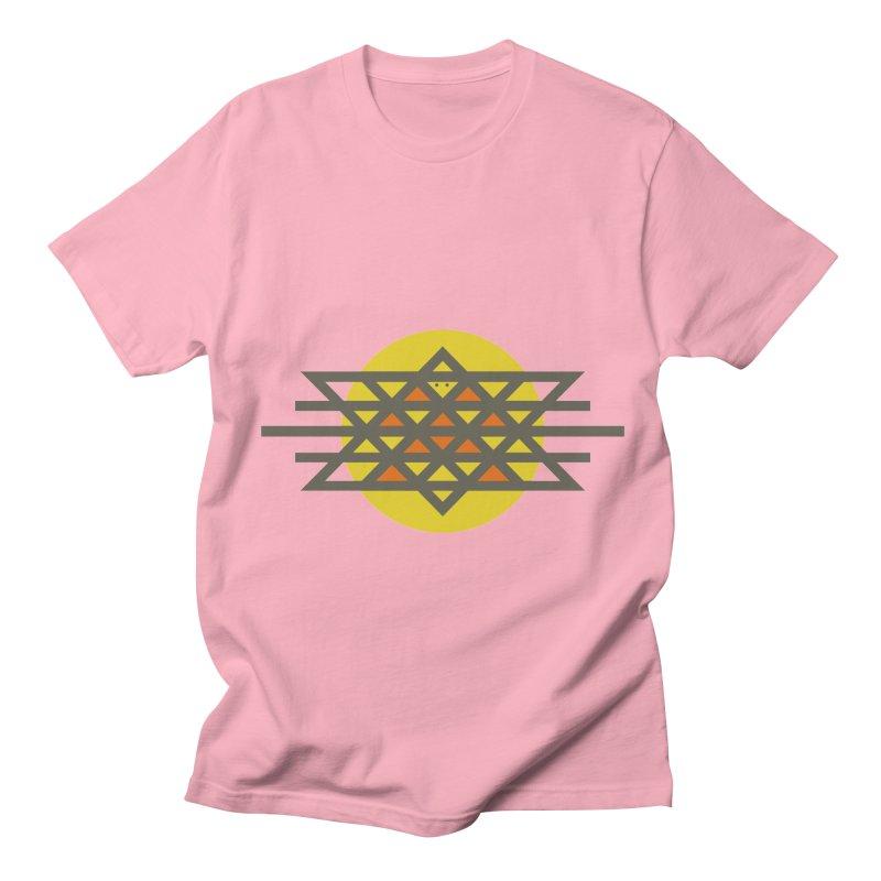 Sun Warrior Men's T-Shirt by hristodonev's Artist Shop
