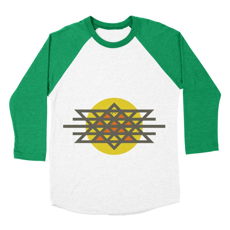 Sun Warrior Women's Baseball Triblend Longsleeve T-Shirt by Hristo's Shop