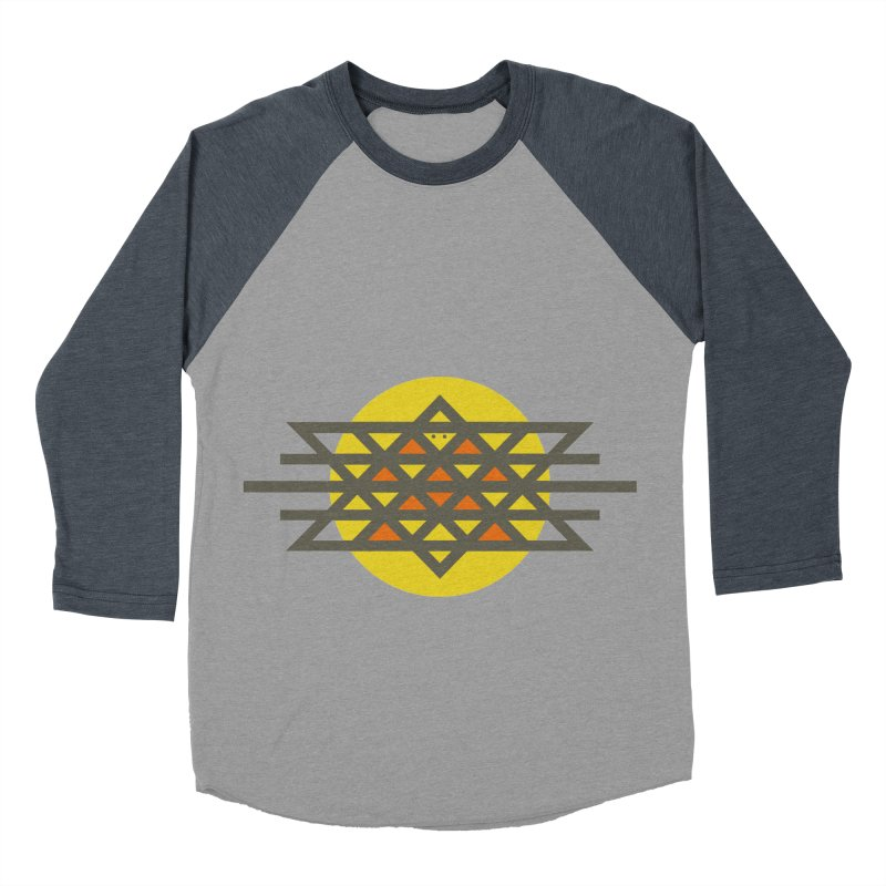 Sun Warrior Men's Baseball Triblend T-Shirt by Hristo's Shop