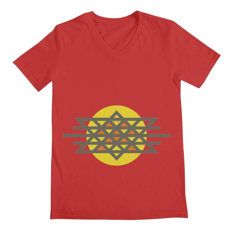 Sun Warrior Men's Regular V-Neck by Hristo's Shop