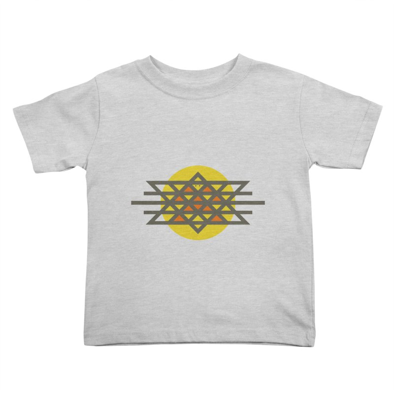 Sun Warrior Kids Toddler T-Shirt by Hristo's Shop