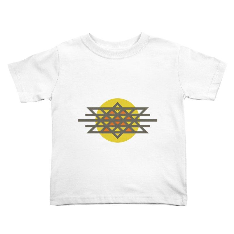Sun Warrior Kids Toddler T-Shirt by hristodonev's Artist Shop