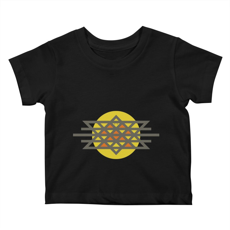 Sun Warrior Kids Baby T-Shirt by Hristo's Shop