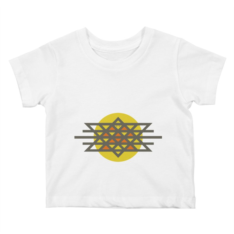 Sun Warrior Kids Baby T-Shirt by Hristo's Shop