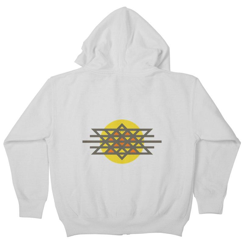 Sun Warrior Kids Zip-Up Hoody by Hristo's Shop