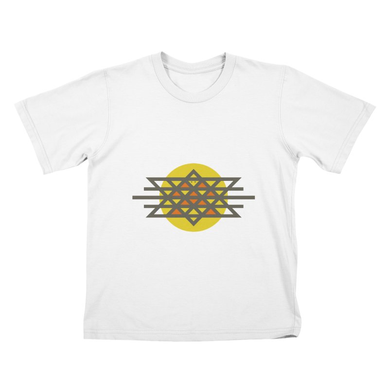 Sun Warrior Kids T-Shirt by Hristo's Shop
