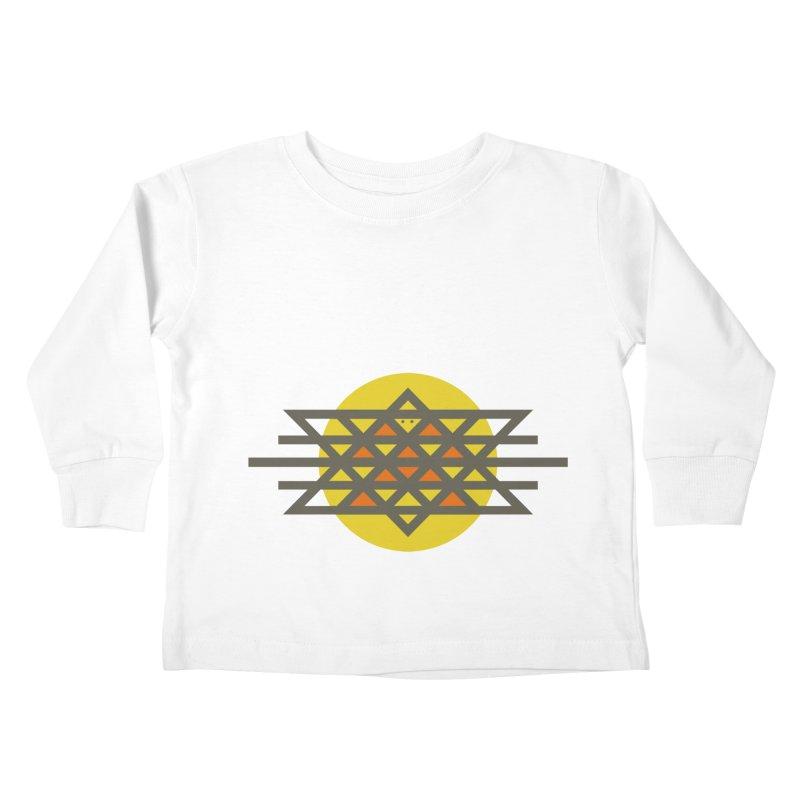 Sun Warrior Kids Toddler Longsleeve T-Shirt by hristodonev's Artist Shop