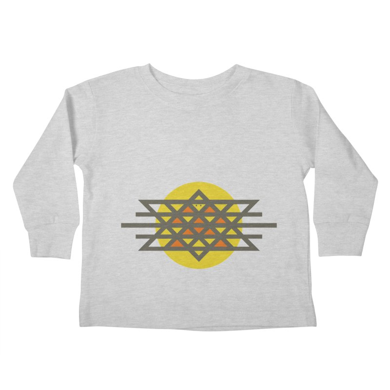 Sun Warrior Kids Toddler Longsleeve T-Shirt by Hristo's Shop