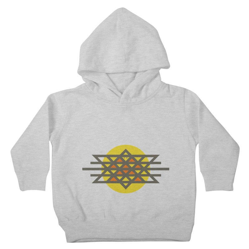 Sun Warrior Kids Toddler Pullover Hoody by hristodonev's Artist Shop