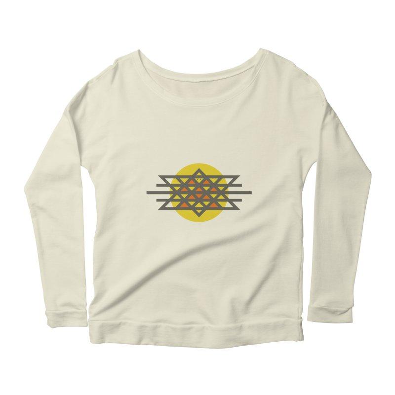 Sun Warrior Women's Scoop Neck Longsleeve T-Shirt by Hristo's Shop