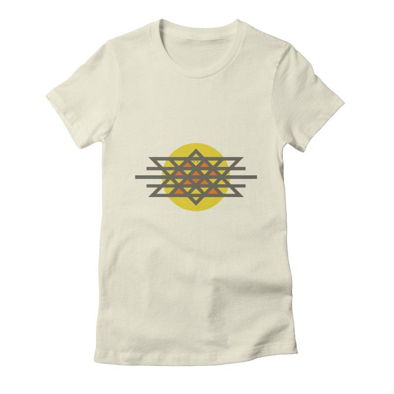 Sun Warrior Women's Fitted T-Shirt by hristodonev's Artist Shop