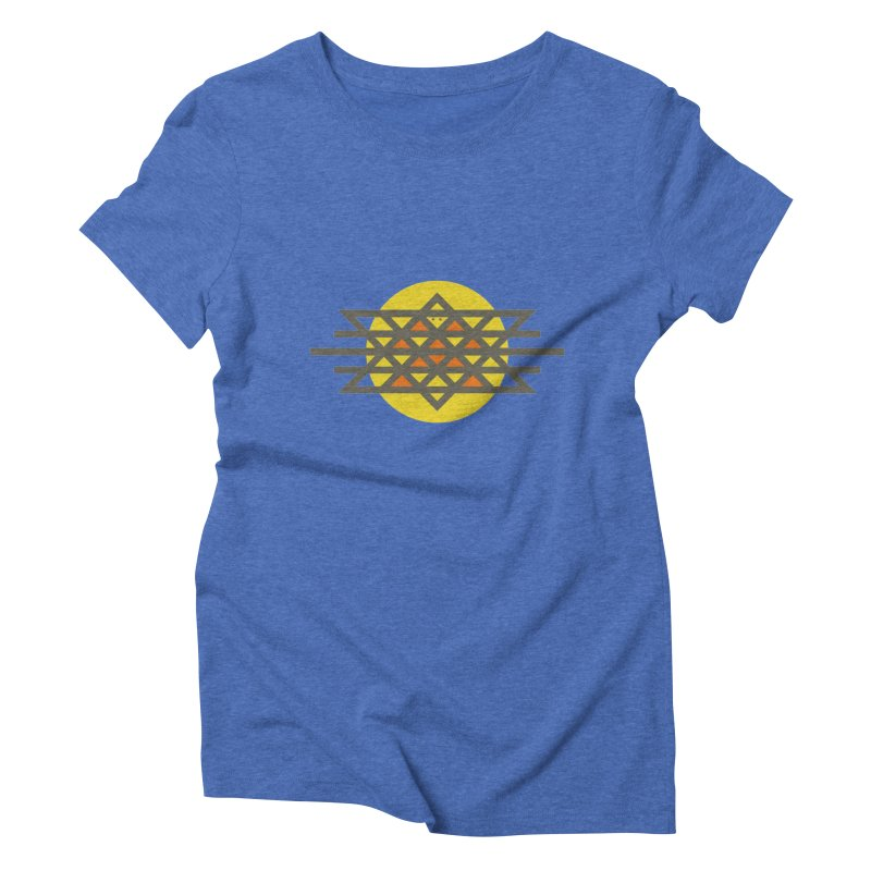 Sun Warrior Women's Triblend T-Shirt by Hristo's Shop