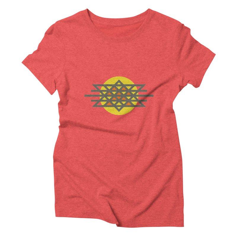 Sun Warrior Women's Triblend T-Shirt by Hristo's Shop