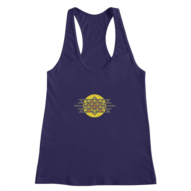 Sun Warrior Women's Racerback Tank by hristodonev's Artist Shop