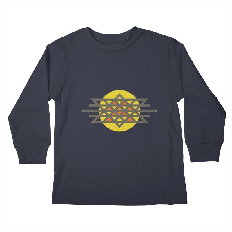 Sun Warrior Kids Longsleeve T-Shirt by Hristo's Shop