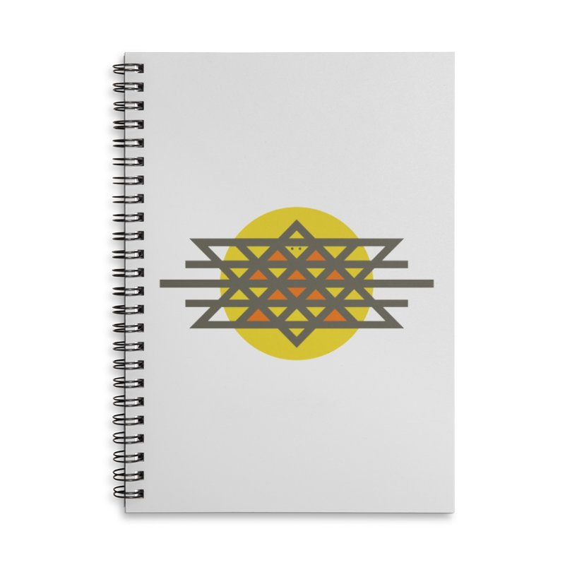 Sun Warrior Accessories Lined Spiral Notebook by Hristo's Shop