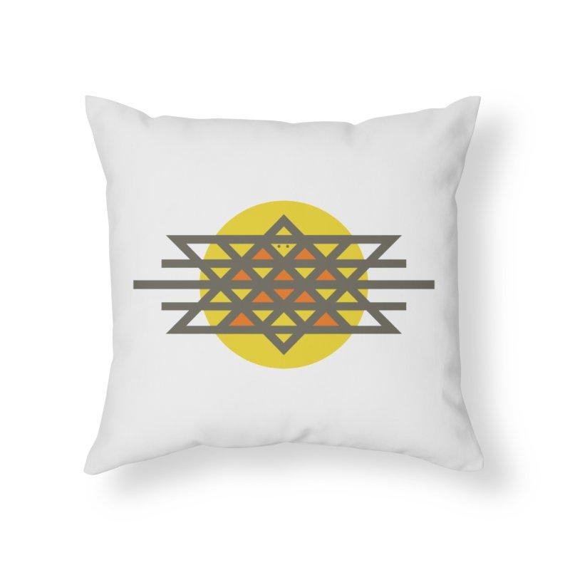 Sun Warrior Home Throw Pillow by Hristo's Shop