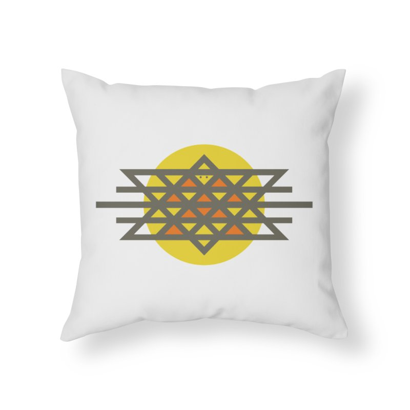 Sun Warrior Home Throw Pillow by Hristo's Shop