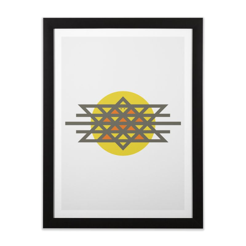 Sun Warrior Home Framed Fine Art Print by Hristo's Shop