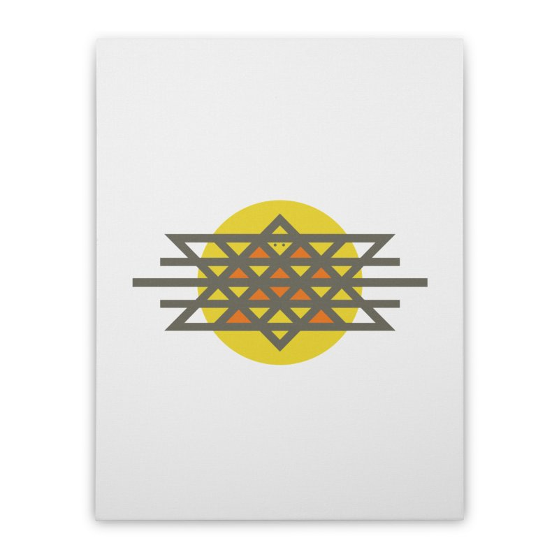 Sun Warrior Home Stretched Canvas by Hristo's Shop