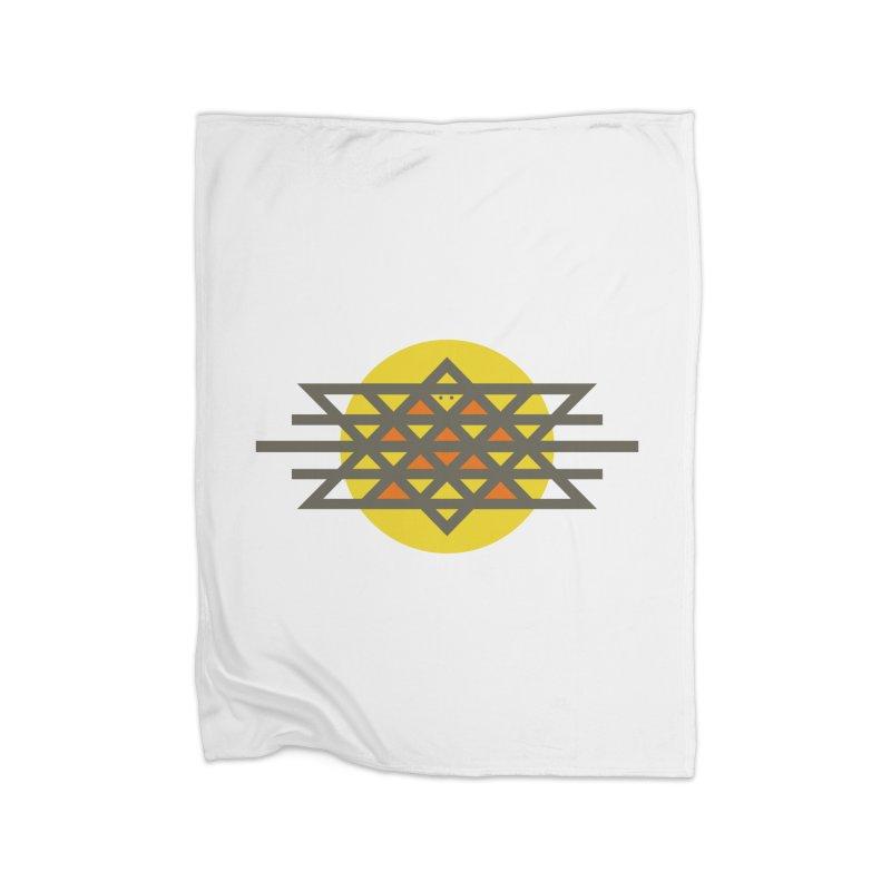 Sun Warrior Home Fleece Blanket Blanket by Hristo's Shop