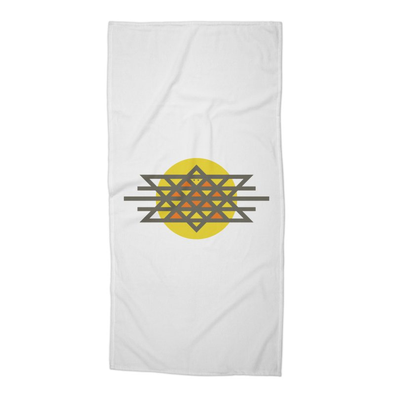 Sun Warrior Accessories Beach Towel by Hristo's Shop