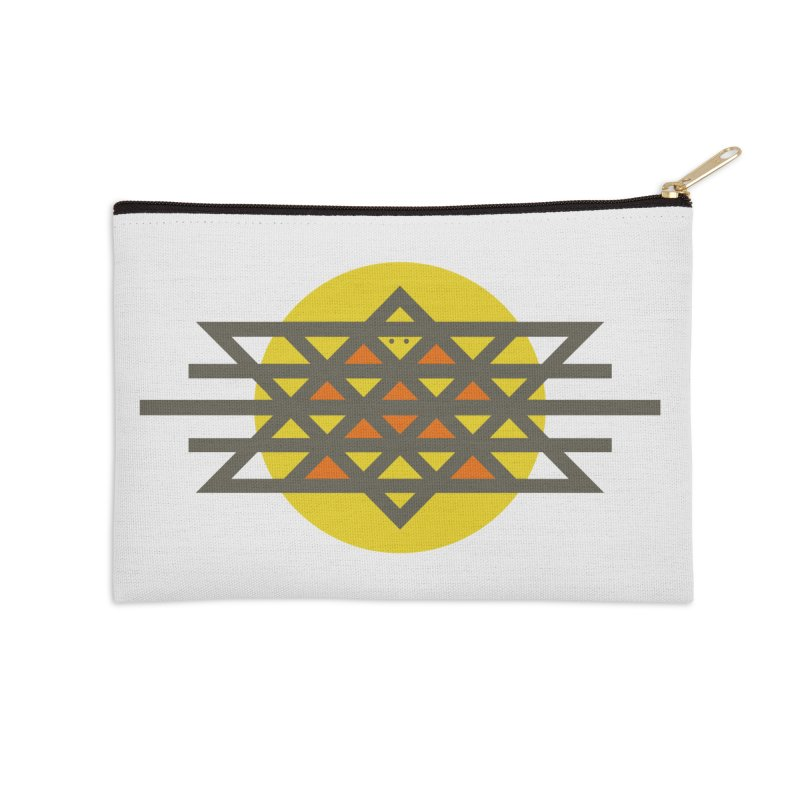 Sun Warrior Accessories Zip Pouch by hristodonev's Artist Shop
