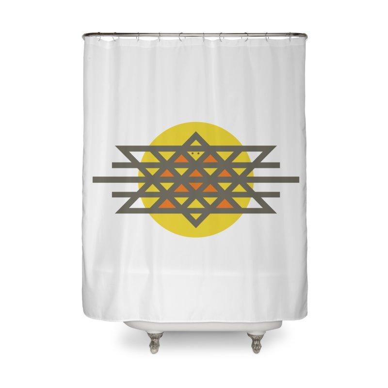 Sun Warrior Home Shower Curtain by Hristo's Shop