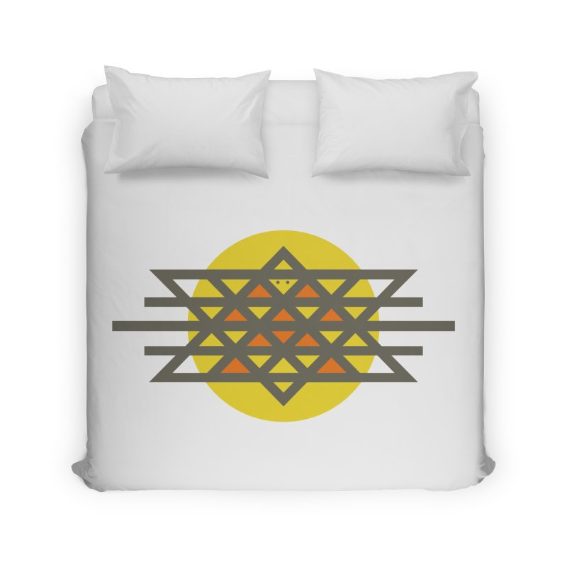 Sun Warrior Home Duvet by hristodonev's Artist Shop