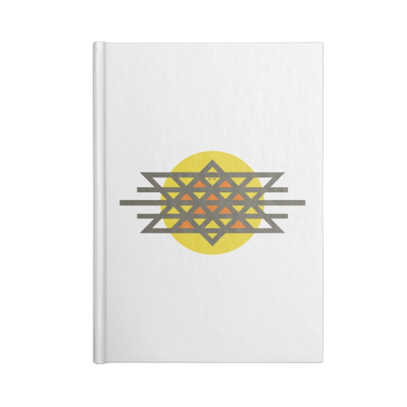 Sun Warrior Accessories Blank Journal Notebook by Hristo's Shop