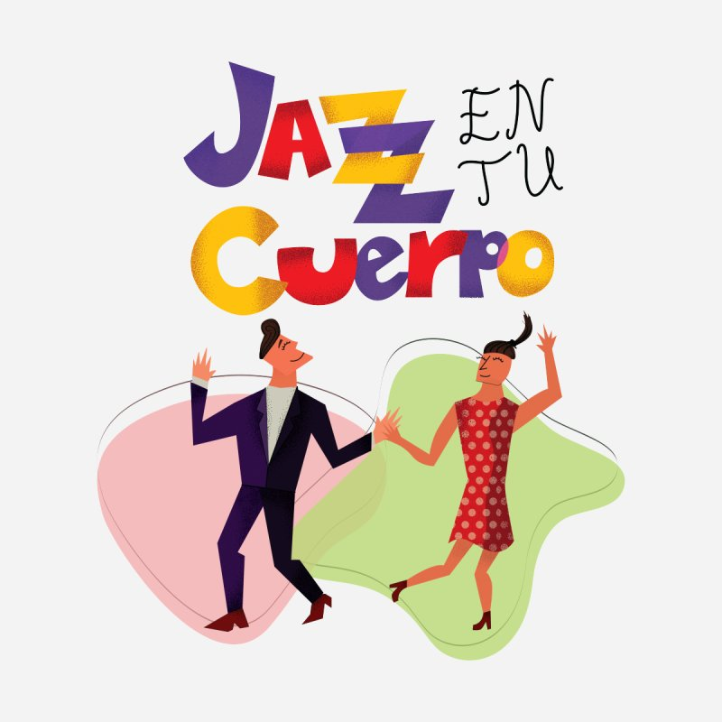Jazz en tu cuerpo Women's T-Shirt by Hristo's Shop