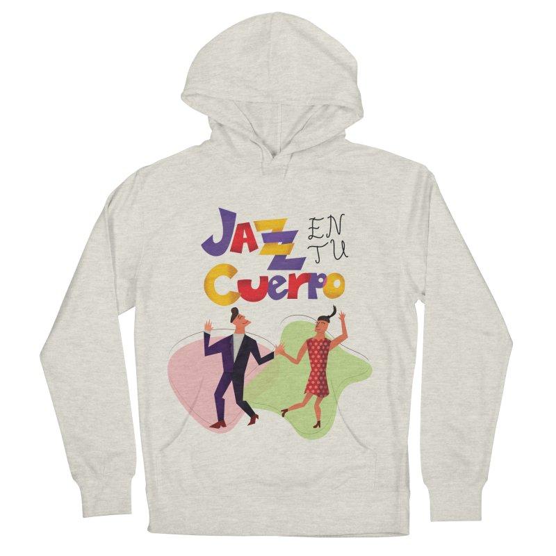 Jazz en tu cuerpo Women's French Terry Pullover Hoody by Hristo's Shop