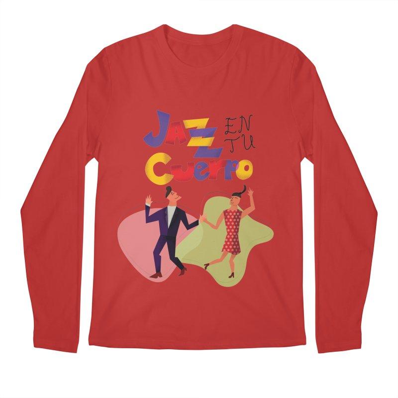 Jazz en tu cuerpo Men's Regular Longsleeve T-Shirt by Hristo's Shop