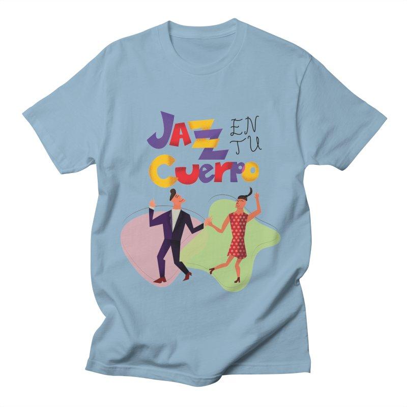 Jazz en tu cuerpo Men's Regular T-Shirt by Hristo's Shop