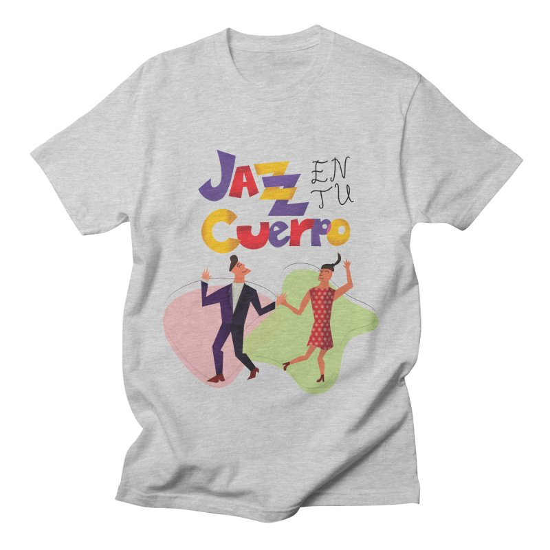 Jazz en tu cuerpo Men's Regular T-Shirt by Hristo's Shop
