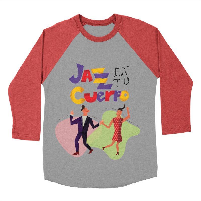 Jazz en tu cuerpo Women's Baseball Triblend Longsleeve T-Shirt by Hristo's Shop