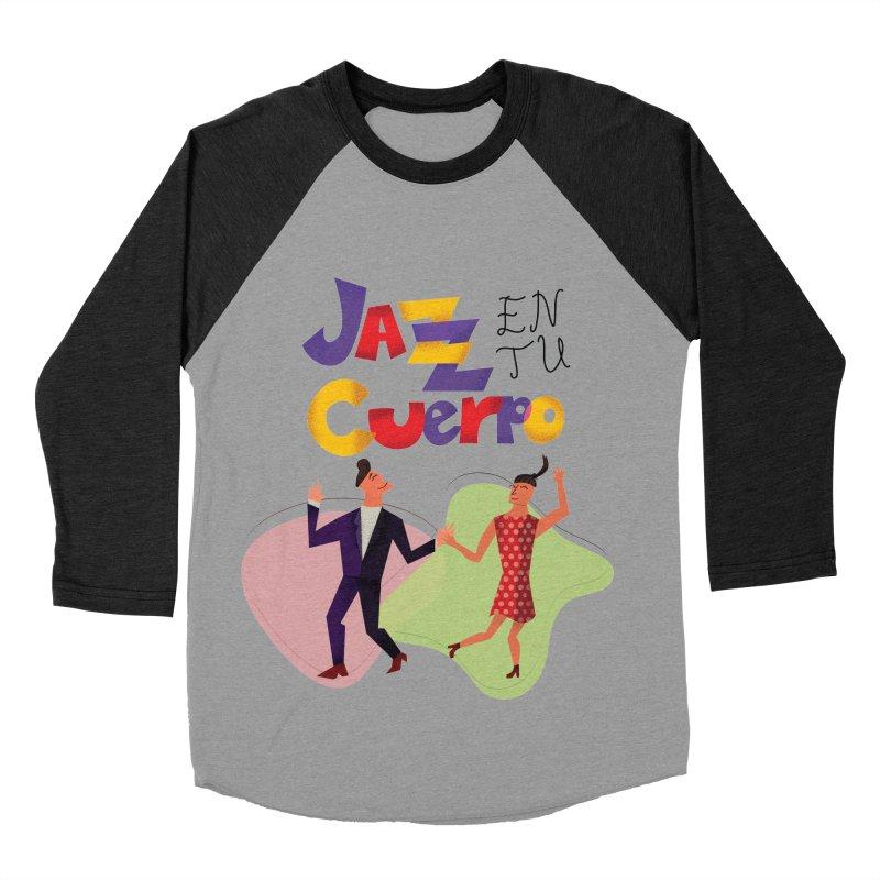 Jazz en tu cuerpo Men's Baseball Triblend T-Shirt by Hristo's Shop