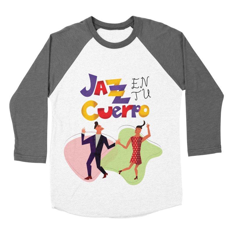 Jazz en tu cuerpo Men's Baseball Triblend Longsleeve T-Shirt by Hristo's Shop