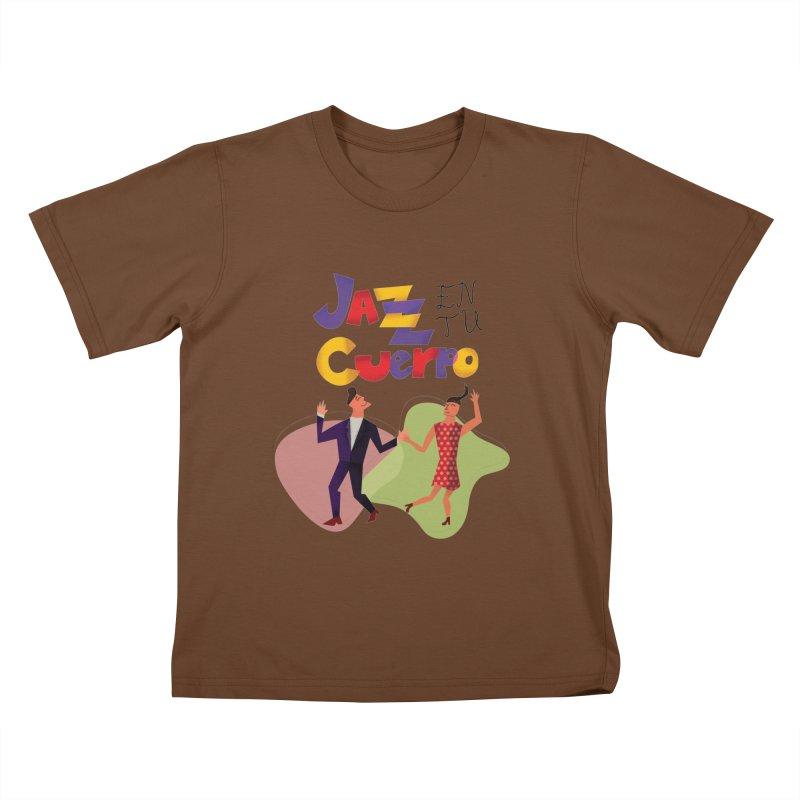 Jazz en tu cuerpo Kids T-Shirt by hristodonev's Artist Shop