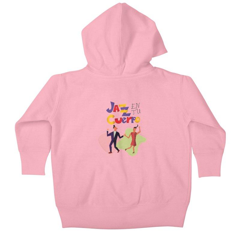Jazz en tu cuerpo Kids Baby Zip-Up Hoody by Hristo's Shop
