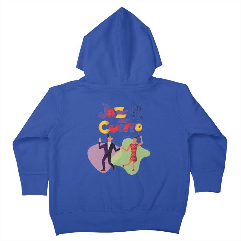 Jazz en tu cuerpo Kids Toddler Zip-Up Hoody by Hristo's Shop