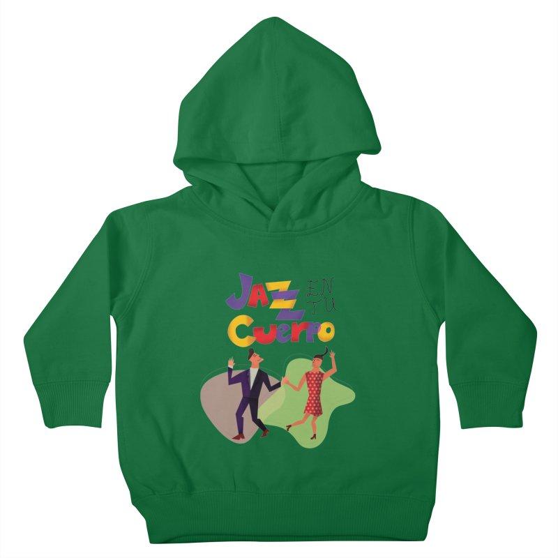 Jazz en tu cuerpo Kids Toddler Pullover Hoody by Hristo's Shop