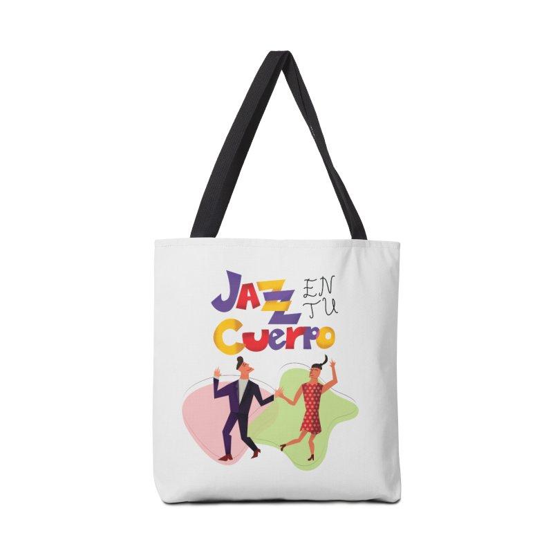 Jazz en tu cuerpo Accessories Tote Bag Bag by Hristo's Shop