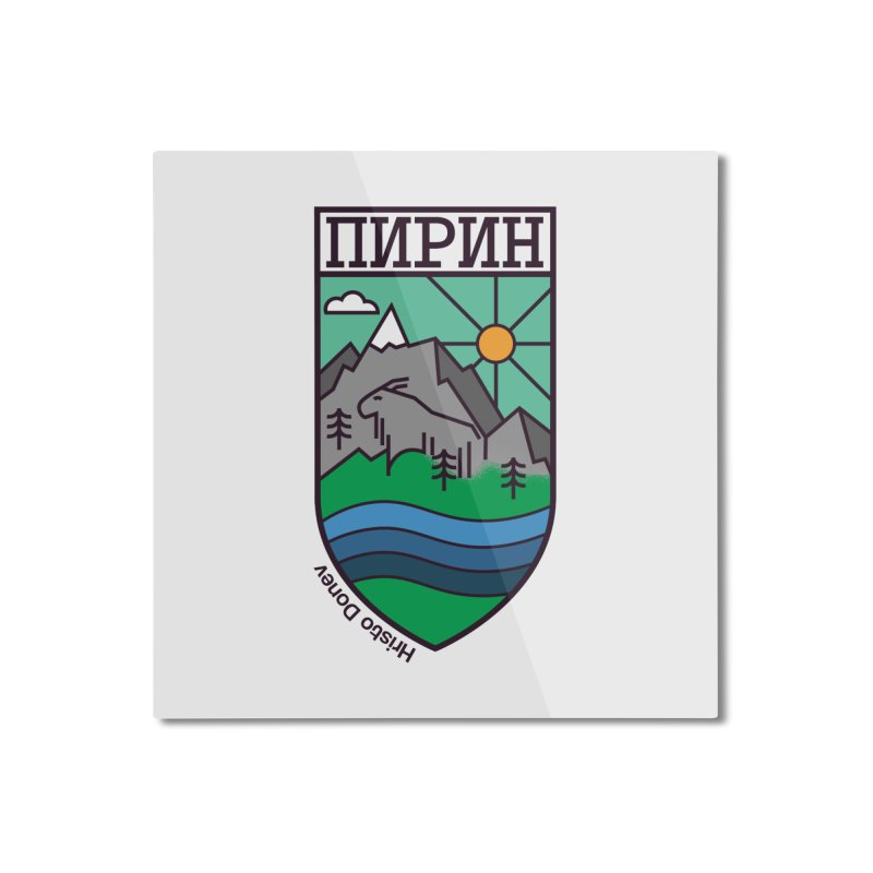 Pirin Home Mounted Aluminum Print by Hristo's Shop