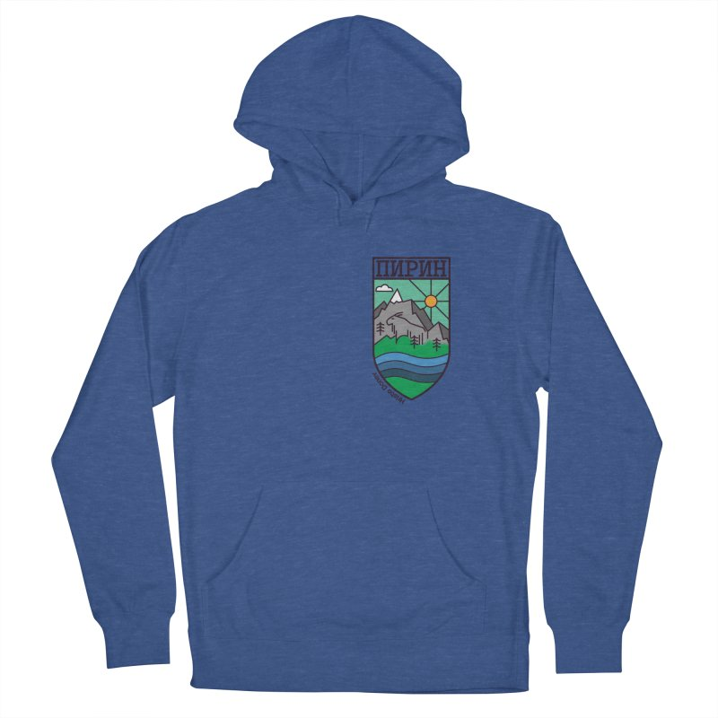 Pirin Men's French Terry Pullover Hoody by Hristo's Shop
