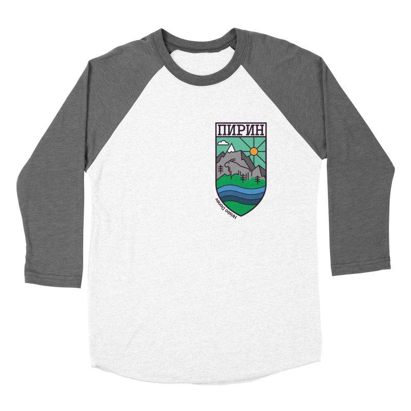 Pirin Women's Baseball Triblend Longsleeve T-Shirt by Hristo's Shop