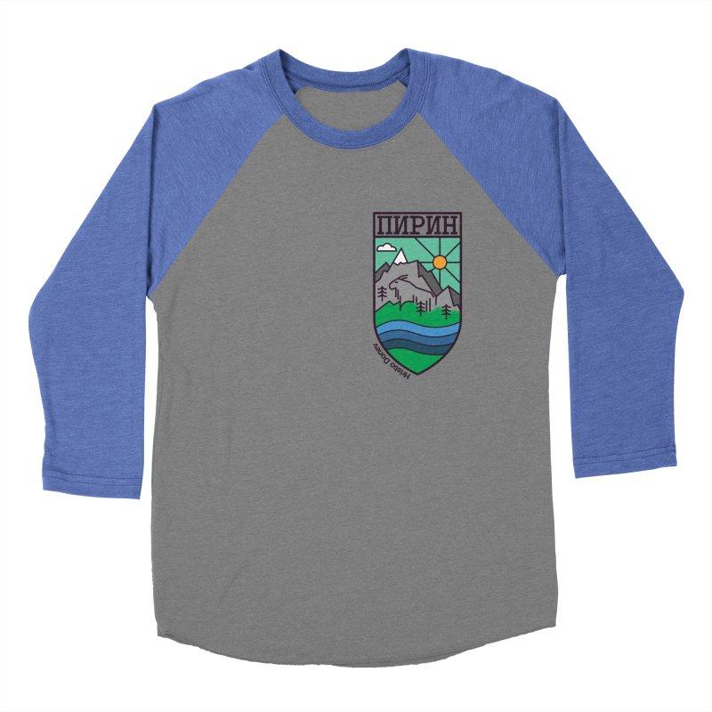 Pirin Women's Baseball Triblend T-Shirt by Hristo's Shop